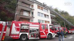 Incendio a Como, morti padre e tre bambini