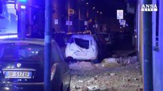 Esplosione in edificio nel Milanese, sei feriti