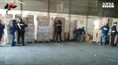 Contrabbando: sequestrate otto tonnellate di sigarette
