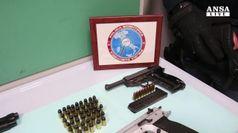 Patto narcotrafficanti-clan Napoli, ecco le armi