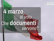 Al voto il 4 marzo, che documenti servono