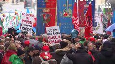 'Solo la razza umana', antifascisti sfilano a Roma