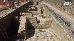 Scoperto edificio I e IV secolo d.C. a Ponte Milvio a Roma