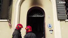 Incendio in sede vigili nel Modenese, due morti