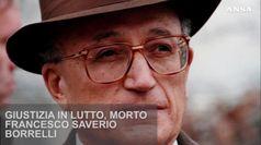 Giustizia in lutto, morto Francesco Saverio Borrelli