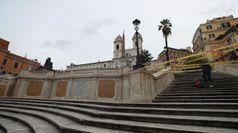 Roma, chiusa la scalinata di Trinita' dei Monti