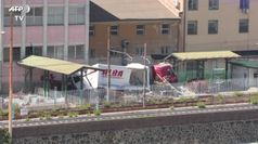 Familiari delle vittime del Morandi:
