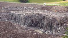 1.900 kg di esplosivo distruggono 7.000 m3 di roccia, ecco come