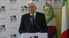 Il presidente Mattarella: