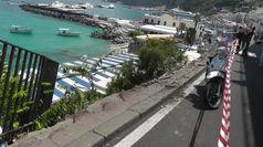Minibus precipitato a Capri: i soccorsi e il racconto di un testimone